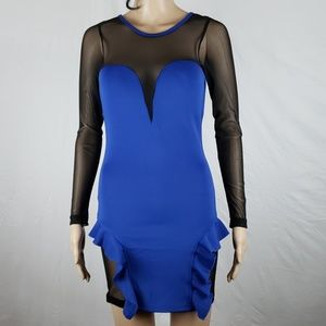 OH YES ROYAL BLUE DRESS
